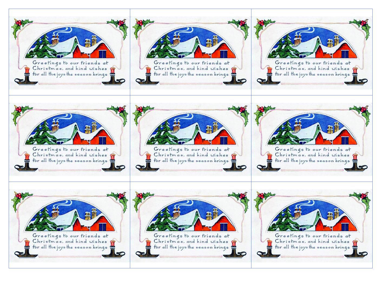 ATC Holiday Card Project